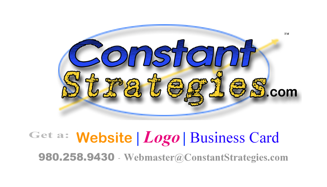 Constant Strategies Business Card