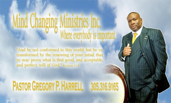 Mind Changing Ministries Business Card